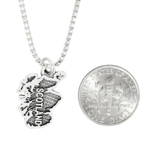 With Options LGU® Sterling Silver Scotland Travel Charm