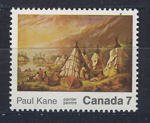 CANADA-1971-MNH-SC-553-Paul-Kane-painter