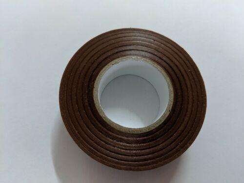 Brown Electrical Pvc Insulation Insulating Tape Flame Retardant Rolls SWA