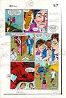 Original 1983 Iron Man 177 Marvel color guide comic book production art page 27