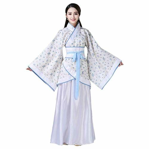 Chinois Traditionnel Antique HANFU rétro élégant Tang costume costume de scène robe