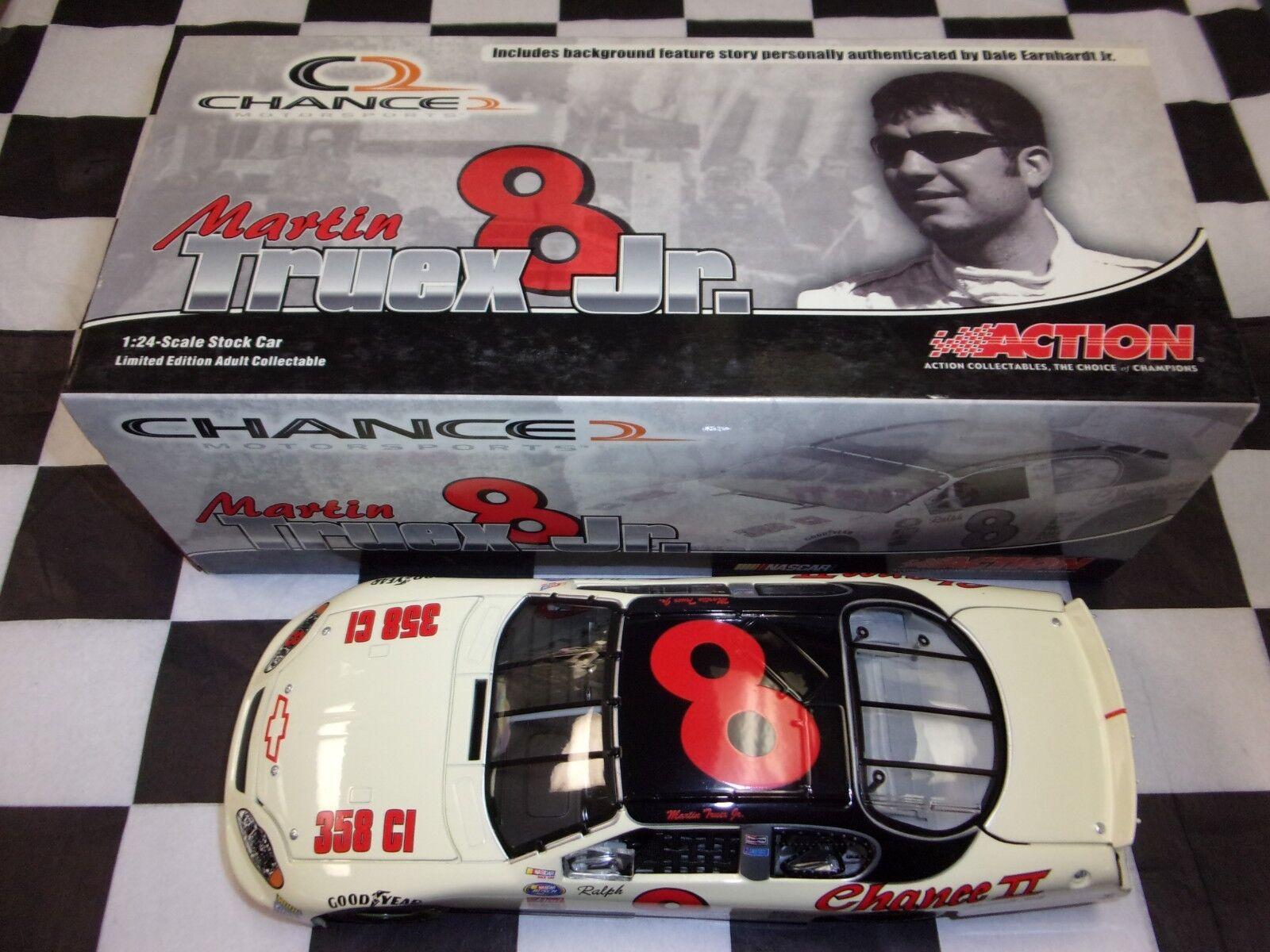 Martin Truex Jr  8 8 8 oportunidad 2 Ralph Earnhardt 2003 Monte Carlo acción 1 24 2004 f05955