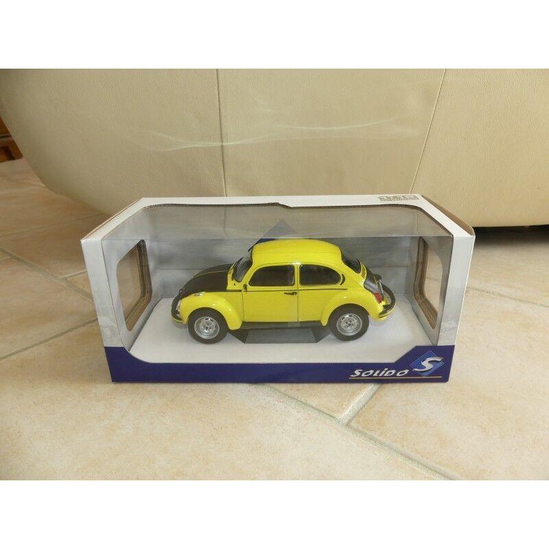 VW COCCINELLE 1303 GSR Jaune et Noir SOLIDO 1 18