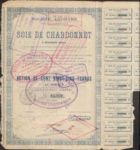 SOIE DE CHARDONNET (BESANÇON DOUBS) (O)