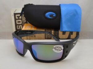 406f5609e6 Costa Permit Matte Black with Green Mirror Lens NEW Sunglasses (PT11 ...