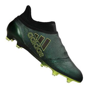 Dettagli su Adidas X 17 + Purespeed Fg Nero Giallo