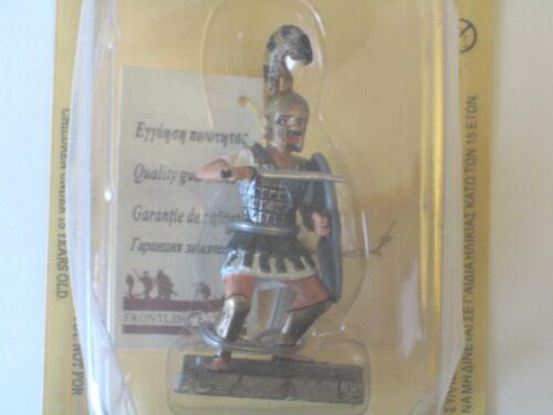 Altaya plomb figure-trojan warrior 12th siècle av-BR04