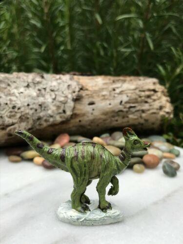 Miniature Dollhouse FAIRY GARDEN Accessories ~ Mini Saurolophus Dinosaur Figure