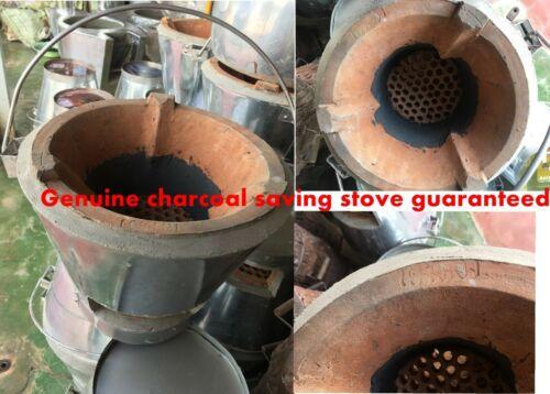 """THAI STYLE /""""TAOTONG/"""" CHARCOAL SAVING STOVE WITH SMOKELESS CHARCOAL"""