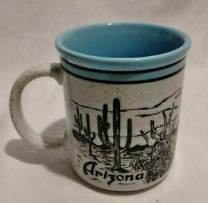 Vintage-SPECKLED-Stoneware-ARIZONA-Coffee-Mug-SSI