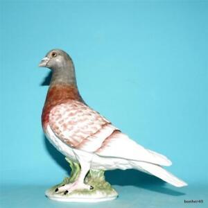 VINTAGE-GOEBEL-W-GERMANY-CARRIER-PIGEON-BIRD-FIGURINE-CV119-1970s