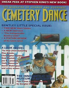 Cemetery-Dance-Magazine-Bentley-Little-Special-Issue-Stephen-King-Max-Brooks