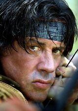 Cartel De Rambo A3 repositional Tela un