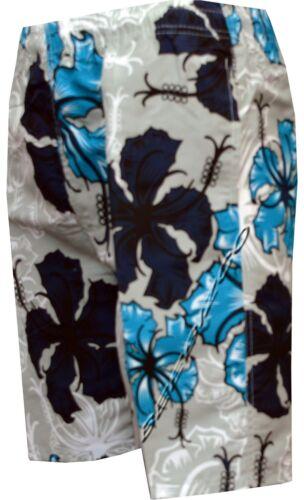 Para Hombre Chicos Verano Floral Estampado Playa Shorts Surf Board Shorts de Baño S-XXL