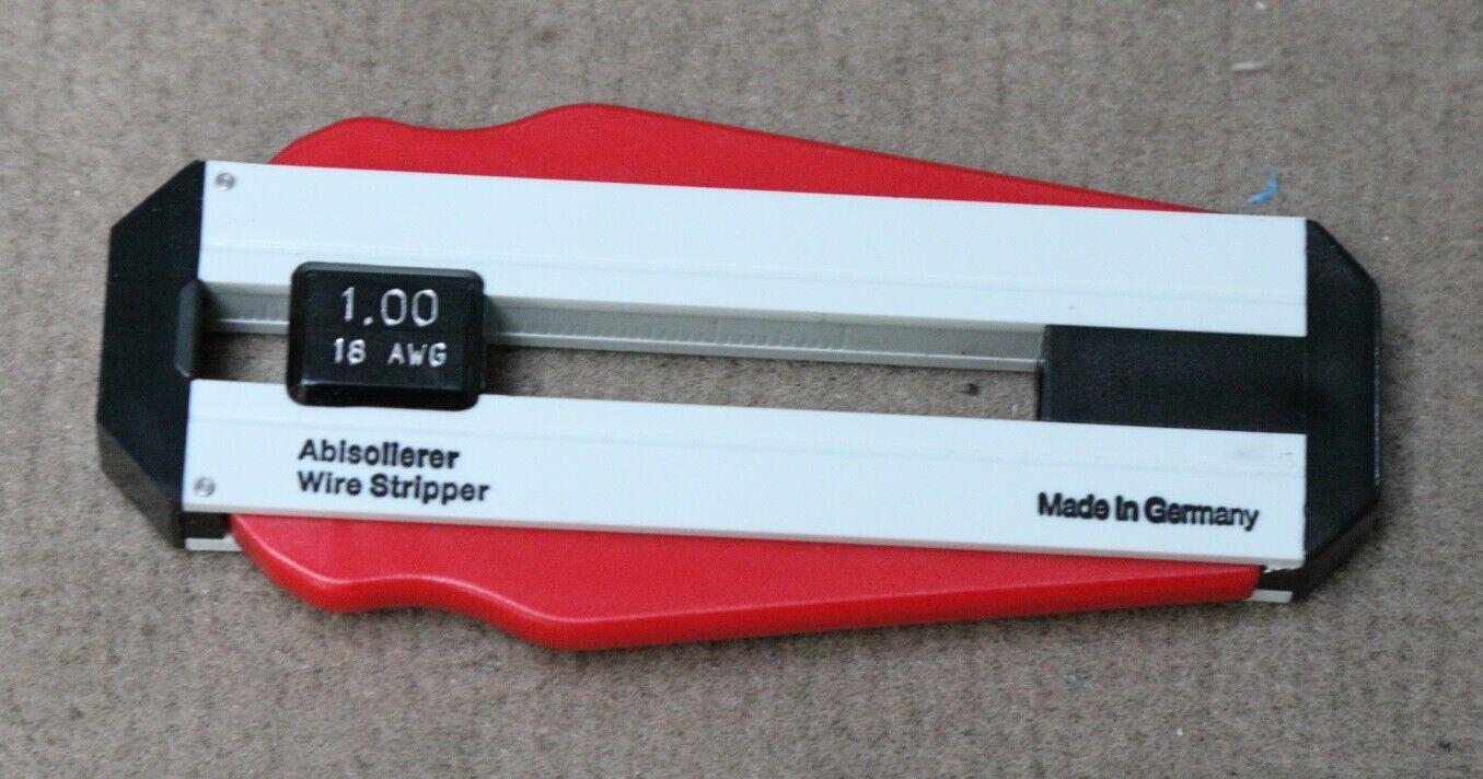 Weidmüller 9020360000 AM LWL POF Präzisions-Abisolierer Glasfaserkabel -1mm²