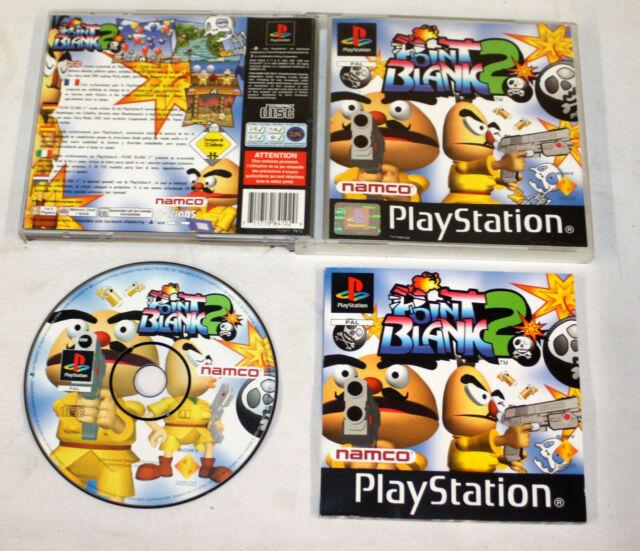 Point Blank 2 (Sony PlayStation, 1999) FREEPOST 711719841029