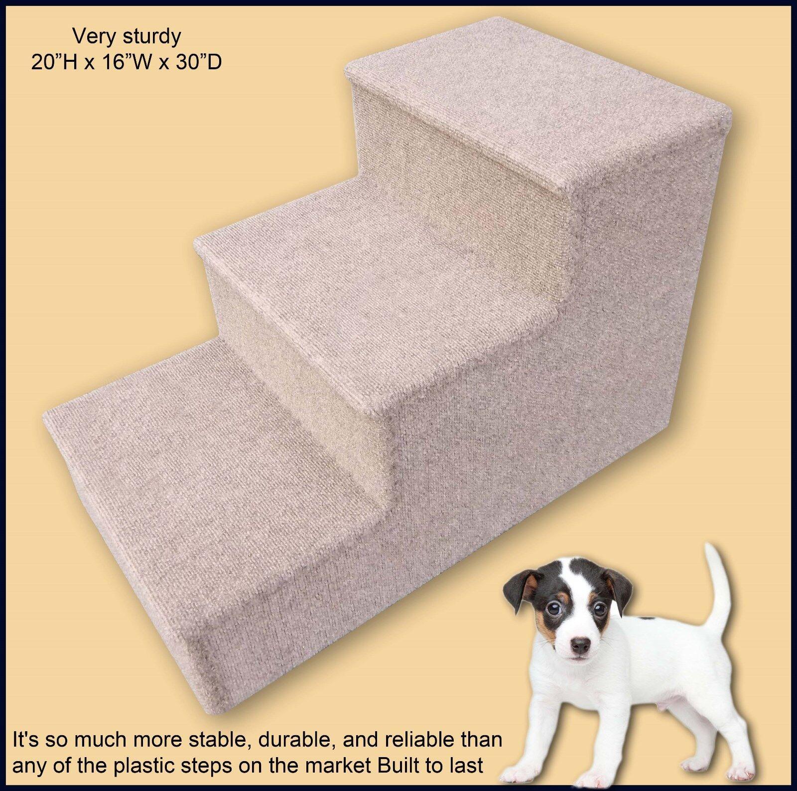 Premier Pet Steps , 20H x 16W x 30D. Pet Stairs Carpeted. Pet Supplies