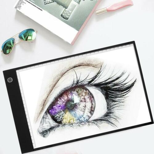 3-Brightness 1PCS Digital A4 LED Graphic Tablet for Drawing Display Panel Board