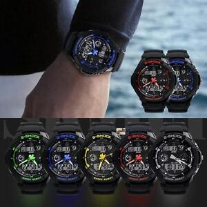 Multi-Function-Cool-S-Shock-Sports-Watch-LED-Analog-Digital-Waterproof-Alarm-LN