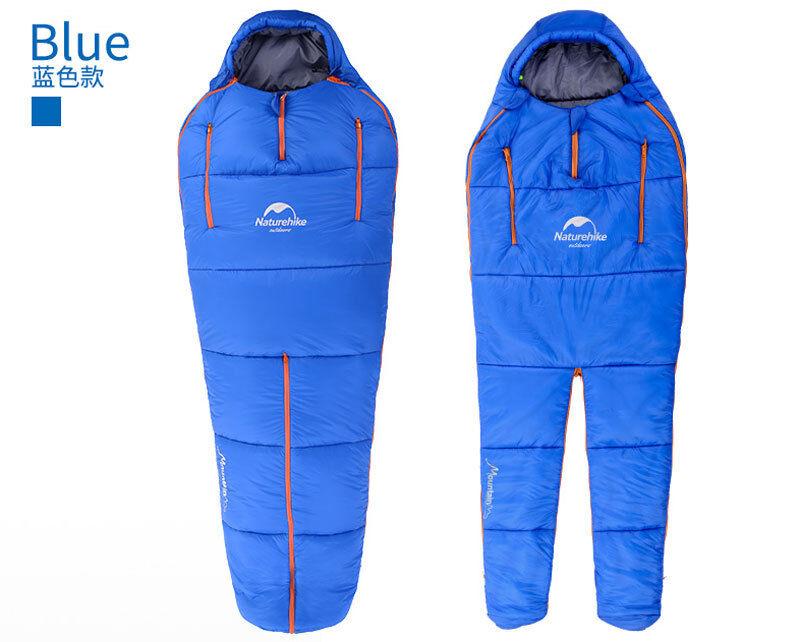 Ultra-Light Imitation Wearable Silk Standing Wearable Imitation Camping Hiking Adult Sacco a pelo 8f286c