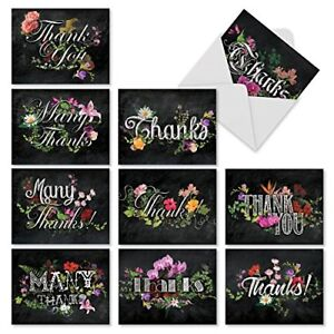 Best baseball greeting cards and invitations ebay the best card company m2358tyb chalk and roses 10 assorted blank thank you note m4hsunfo