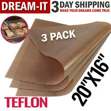 Ptfe Teflon Sheet 16x20 For Heat Press Iron Art Craft Transfer Sewing Baking Mat