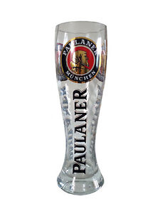 paulaner munich 3 liter xxl german beer glass new. Black Bedroom Furniture Sets. Home Design Ideas