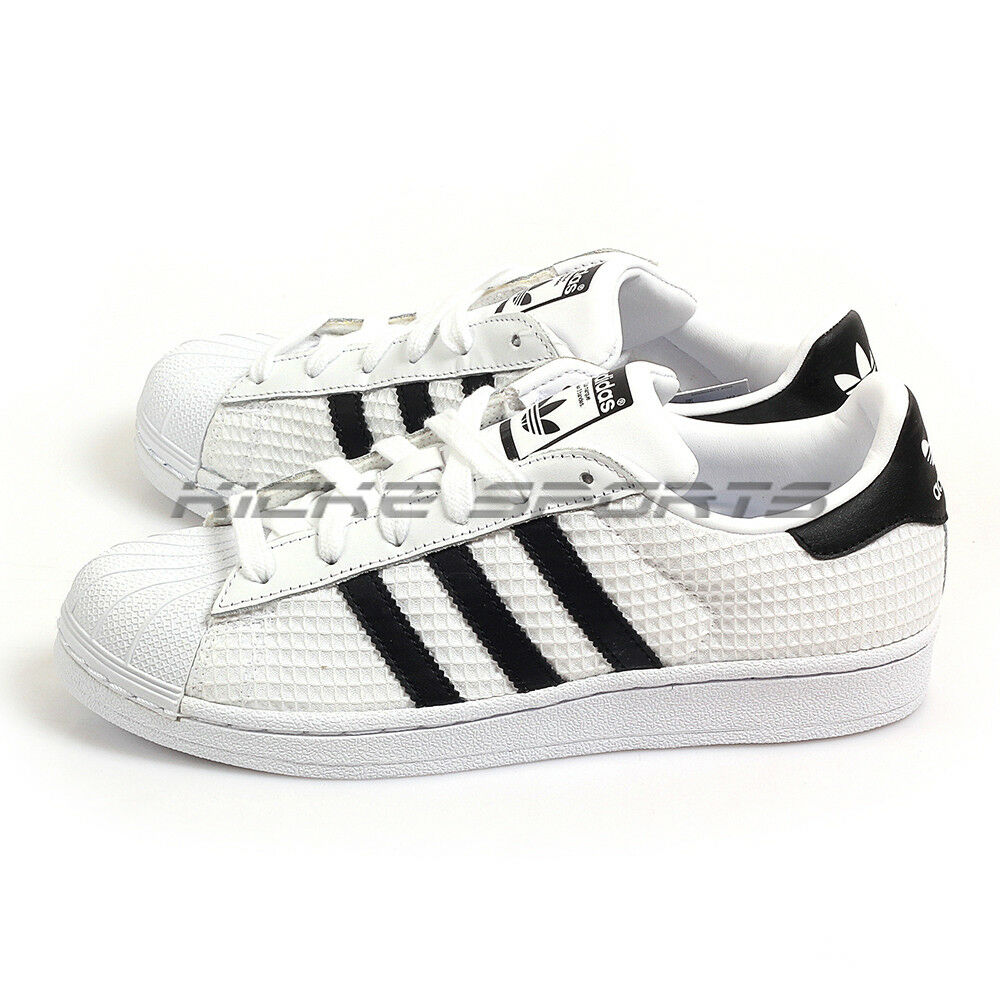 Adidas Originals Superstar White Black White Classic Trefoil Lifestyle CM8077