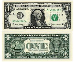 Etats-UNIS-AMERIQUE-USA-Billet-1-Dollar-2017-B-NEW-YORK-NEUF-UNC