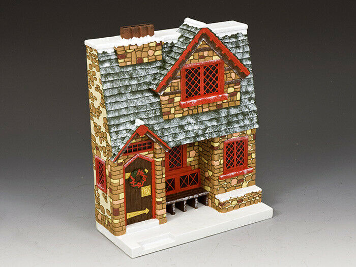 XM019-02 Santa's Christmas Cottage av King & Country