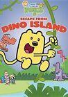 WOW WOW Wubbzy Escape From Dino Islan 0013132139296 DVD Region 1