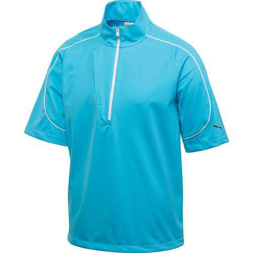 ** Nuovissimo ** Puma 2013 Manica Corta Knit Giacca Vento-blu Atoll - 4 Misure