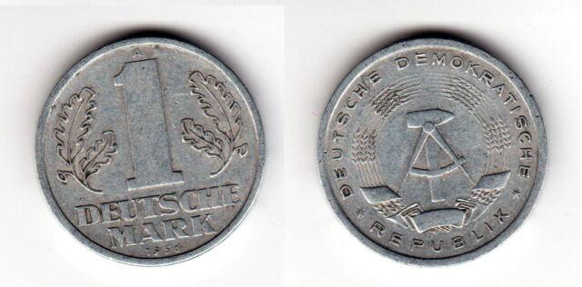 1 Deutsche Mark 1956 A Seltene Original Münze Der Ddr A80 Ebay