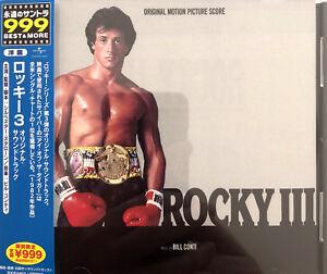 Bill-Conti-CD-Rocky-III-Original-Motion-Picture-Score-Japan-M-M