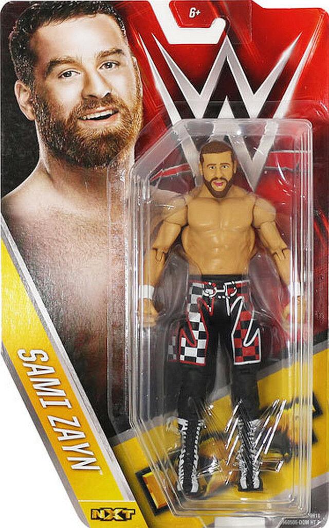 Wwe Wwe Wwe Sami Zayn Nxt Mattel Basic Serie 61 Wrestling Actionfigur El Generico Reine 89e0d3