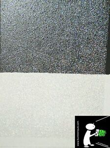 glitter effekt wandlasur wandfarbe glitzer silber rainbow hologramm ebay. Black Bedroom Furniture Sets. Home Design Ideas