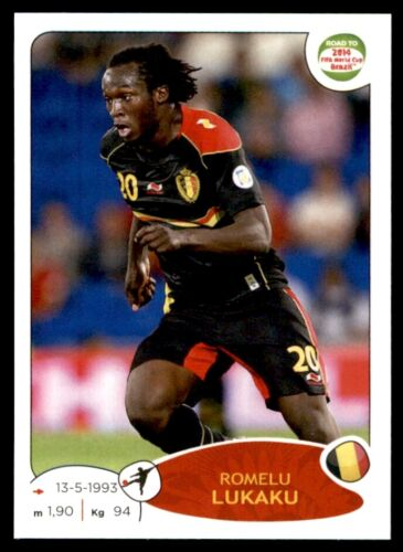 Panini Camino a 2014 Copa del Mundo-Romelu Lukaku Bélgica no 269