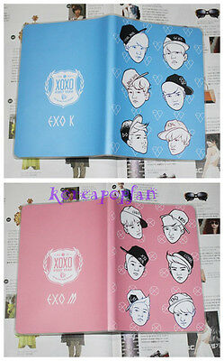 2PC SET EXO XOXO MAMA WOLF EXO-M EXO-K NOTE BOOKS KPOP NEW