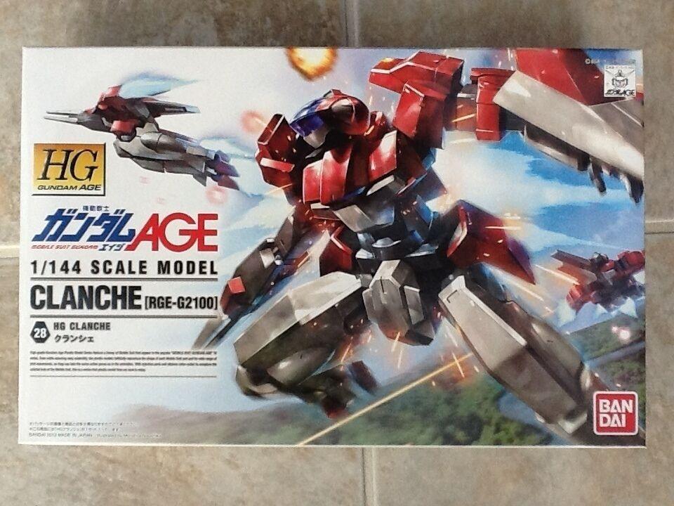 BANDAI 1  144 HG AGE Gundam CLANCHE [RGE -G2100] Plastic modellllerler Kit NEW