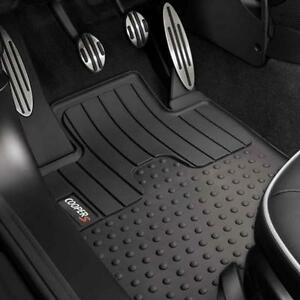 MINI-Cooper-2012-amp-Up-S-Countryman-Rubber-All-Weather-Floor-Mats-Set-New-OEM