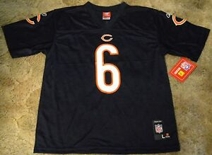 new products 02022 e3423 Details about #6 CHICAGO BEARS JAY CUTLER JERSEY YOUTH SIZE LARGE (14/16)  NWT