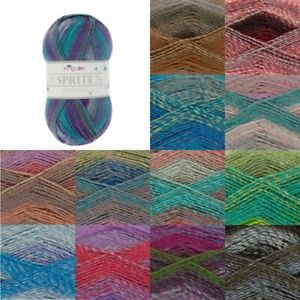 King-Cole-Sprite-DK-Yarn-Knitting-Wool-100g-Ball-Acrylic