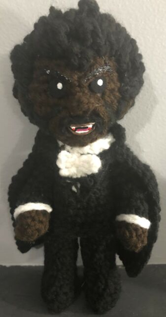 Blackula Crochet Doll