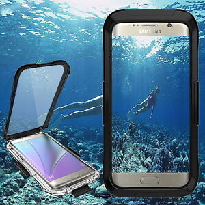 low cost dd7ae 6de43 Details about Waterproof Diving Cover Case For Samsung Galaxy S9 S9+ S8 7  iPhone X 8 7 6S Plus