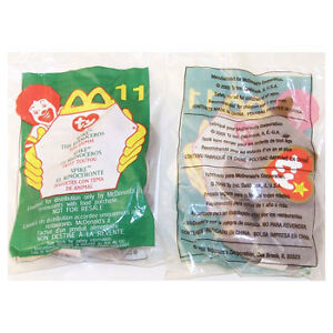 Spike The Rhinoceros #11 TY Teenie Beanie Babies McDonald/'s 2000 Sealed in Bag