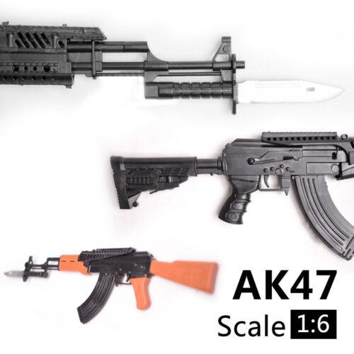SCALA 1//6 AK47 PISTOLA GIOCATTOLO MODELLO DI ASSIEME Puzzle Edificio Mattone PISTOLA arma soldato