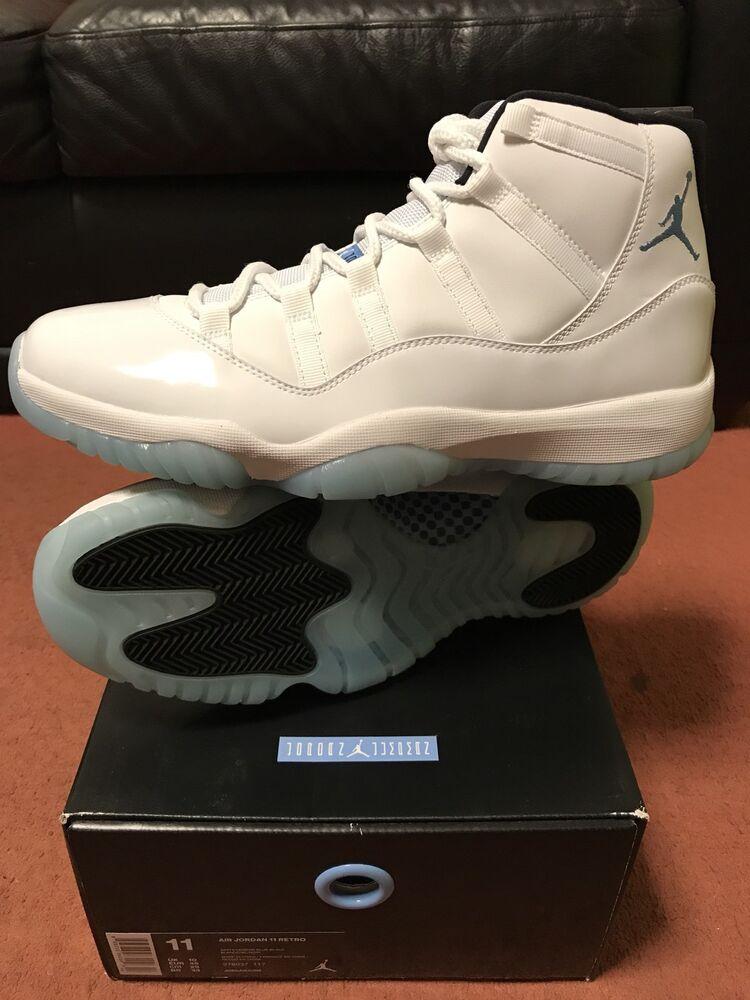 Nike Air Legend Jordan Legend Air Bleu UK Enti 86e262
