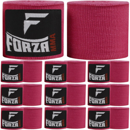 """Forza Sports 120/"""" Mexican Style Boxing and MMA Handwraps 10-Pack"""