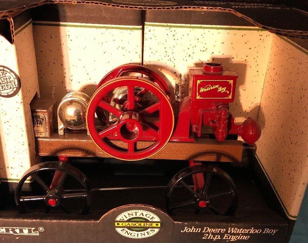 Ertl John Deere Waterloo Boy 2 H.P. Engine, Manufactured USA, 1991