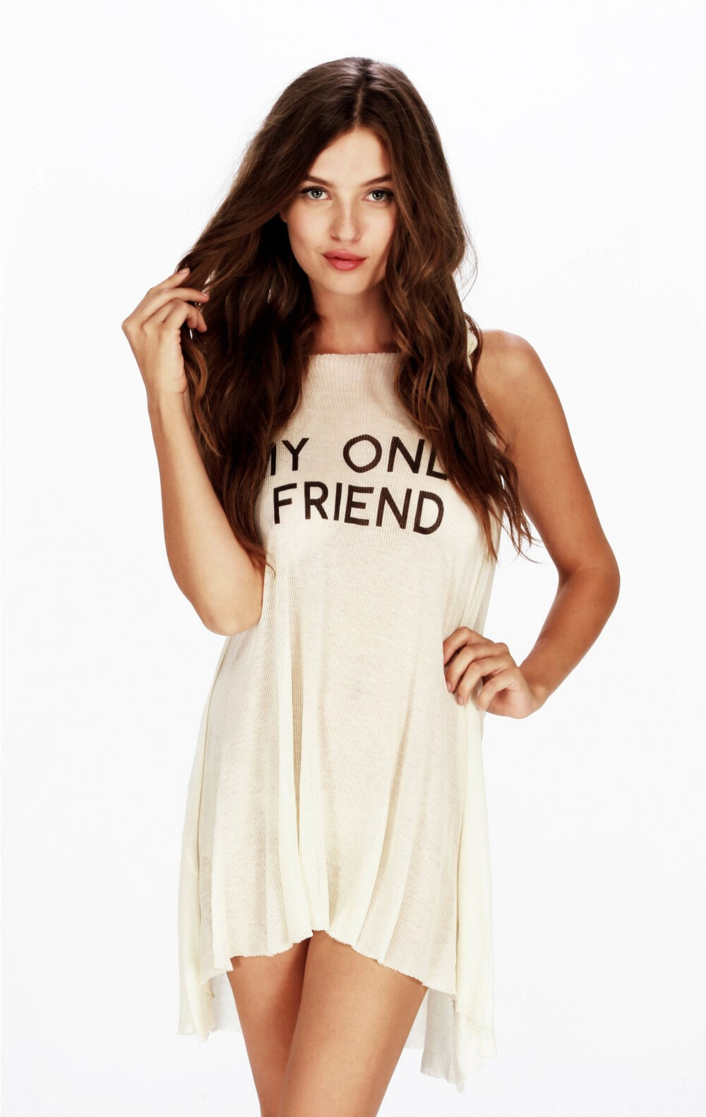 Wildfox Couture  Wilson  Wrecked Tank, Vintage Lace Farbe, Größe S